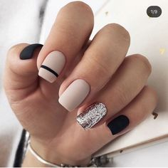50 Elegant Nail Art Designs For Women 2019 – Page 31 of 50 – Chic Hostess – nails. Cute Acrylic Nails, Acrylic Nail Designs, Nail Art Designs, Nails Design, Stripe Nail Designs, Nail Design For Short Nails, White Nail Designs, Gel Designs, Salon Design
