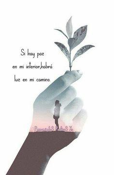 Positive Phrases, Motivational Phrases, Positive Life, Positive Quotes, Inspirational Quotes, Quotes En Espanol, Positive Inspiration, Spanish Quotes, Gods Love