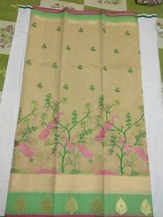 Chanderi fancy Sarees with contrast blouses | Buy Online Kota Sarees | Elegant Fashion Wear