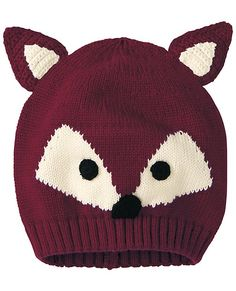 Who's That Sweater Hat from #HannaAndersson.