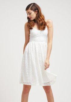 Robes Miss Selfridge Robe d'été - white    blanc: 50,00 € chez Zalando (au 05/04/16). Livraison et retours gratuits et service client gratuit au 0800 740 357.