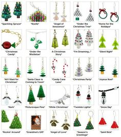Beading Tutorials: Christmas | http://jewelryphotocollections939.blogspot.com