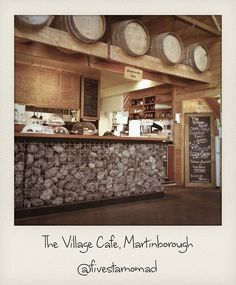 The Village Cafe, Martinborough Places In England, Cafe Shop, Coffee Shops, Bar, Wineries, Wine Country, Interior And Exterior, New Zealand, Columbia
