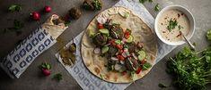 Falafel, Kid Friendly Meals, Good Mood, Vegan Vegetarian, Vegan Recipes, Clean Eating, Tacos, Veggies, Yummy Food