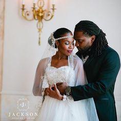 Their chemistry is unmistakable.  Beautiful photo captured by @shotofjay #MarriageMonday #WeddingPhotography #WeddingInspiration #Love #Marriage #Lovebirds #BlackBride #BlackBride1998