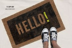 MY DIY | Welcome Mat | I SPY DIY