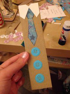 Tie Bookmark for Dad