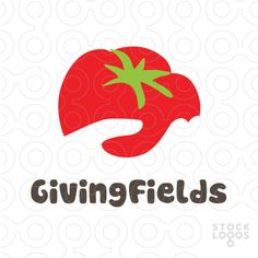 giving field farm and garden | StockLogo s.com - I really like this graphic. It relates to the title. Contrast was used to make the image pop.