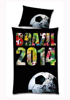 """Bettwäsche """"WM Brasil 2014"""" im Online Shop von Ackermann Versand #WM2014 Shops, Tents, Retail, Retail Stores"""