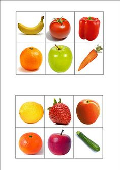 Ovoce a zelenina Nutrition Activities, Montessori Activities, Fruit And Veg, Fruits And Vegetables, Image Fruit, Food Themes, Food Crafts, Group Meals, Kids Education