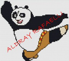 Kung Fu Panda perler bead pattern by Drayzinha