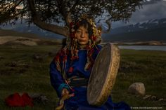 https://flic.kr/p/pZbK6n | The last of the Tuvan Shaman | This is Galba. She was the last of the Tuvan Shaman in Mongolia. She took us here, to her birthplace high in Mongolia's Altai Mountains to perform a ritual at her most sacred place, and sacred tree. Galba told us we were the first foreigners ever to visit this place on the border, with the mountains of China in the background. Galba passed away less than a week after I took this photograph of her.