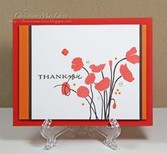 papertrey ink botanical silhouettes | ... Up! (Poppy Parade, Pumpkin Pie, Early Espresso), Papertrey Ink (white