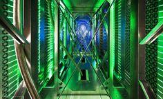 Água: o principal modo de resfriar arquivos armazenados digitalmente