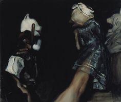 Michaël Borremans, The Clash, 2002