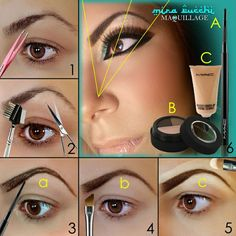Tutorial: How to Fill in Your Eyebrows