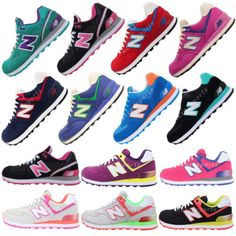 New Balance WL574 B 2013 Womens Retro Running Shoes Encap Casual Sneakers Pick 1