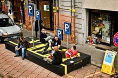 Person Parking - Public Design Festival - 2009 by Public Design Festival, via Flickr