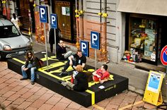 Person Parking - Public Design Festival - 2009 by Public Design Festival, via Flickr