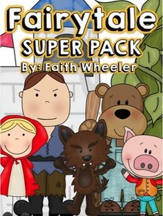 This fairy tale bundle is based off first grade common core standards and was created to go with four different fairy tale sets.  The bundle covers reading, language arts, writing, math, science, and social studies skills.  Each fairy tale is available as individual sets for $4.50.