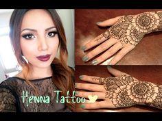 #hennahand #designcomhenna Henna Tattoo Tutorial (Tips and Tricks ) Mehndi Tattoo, Henna Mehndi, Henna Diy, Henna Tattoos, Mehendi, Henna Designs, Tattoo Designs, Party Makeup Tips, Piercings