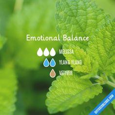 Emotional Balance — Essential Oil Diffuser Blend