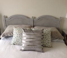 Vintage Queen or Full Cane Headboard in by SerendipitousDecor, $395.00