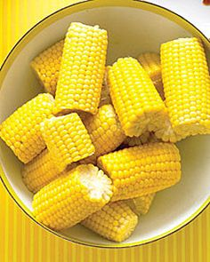 sweet corn: Corn sold by the roadside always reminds me of summer