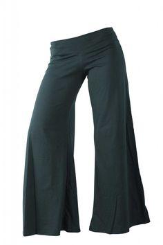 Brown SILK Pants Wide Leg Trousers Women Harem Pants by aaberi ...