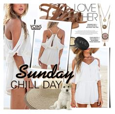 """""""Sunday, Chill Day // Yoins"""" by noviii ❤ liked on Polyvore featuring NARS Cosmetics, yoins, yoinscollection and loveyoins"""