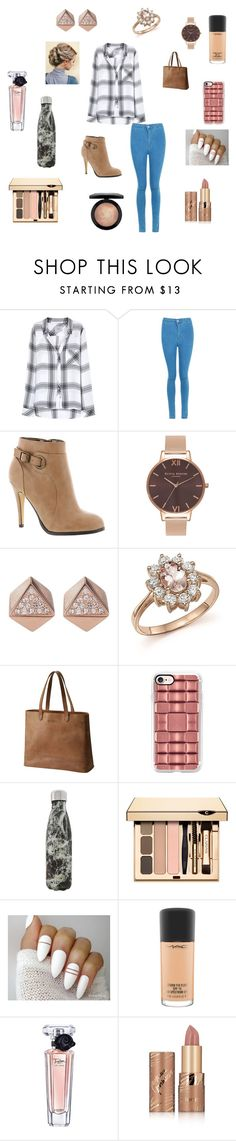 """""""just yessss"""" by kat-bec127 on Polyvore featuring Rails, Boohoo, Michael Antonio, Olivia Burton, FOSSIL, Bloomingdale's, SOREL, Casetify, S'well and MAC Cosmetics"""