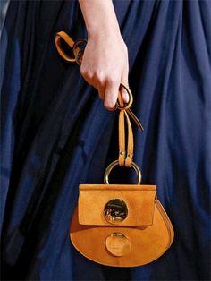 Chloé mini suede shoulder bag