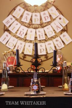 awesome Harry Potter birthday party ideas