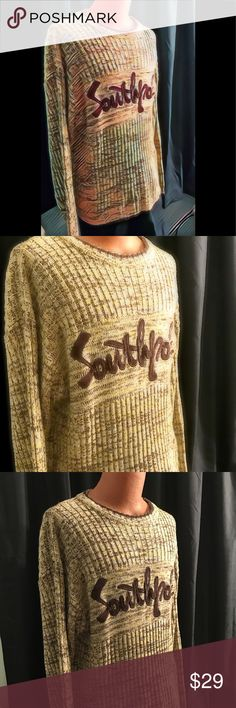 Southpole sweater Almost Vintage Southpole sweater The look the feel the style only southpole South Pole Sweaters Crewneck