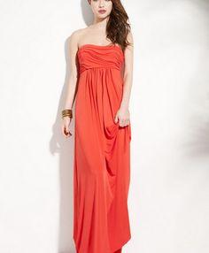 Court Temperament Elegant Evening Gown Skirt Waist Watermelon Red JY15033101-04http://www.clothing-dropship.com