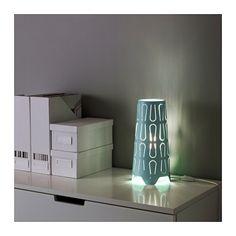 KAJUTA Bordlampe - lyseblå - IKEA
