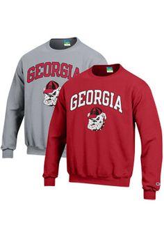 Product: University of Georgia Bulldogs Crewneck Sweatshirt