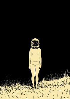 My sweet sad girls - illustration by Adams Carvalho