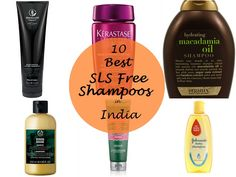 10 Best SLS Free Shampoos Available in India. Everyone knows the damage sodium lauryl sulfate does to hair so I decided to go silicone free in my shampoos Silicone Free Conditioner, Sulfate Free Conditioner, Sulfate Free Shampoo, Sls Free Shampoo, Baby Shampoo, Best Hair Care Products, Best Makeup Products, Free Products, Beauty