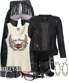 """Bad To The Bone"" by brendariley-1 on Polyvore"
