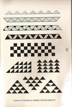 Hawaiian Triangle Pattern tattoos - Yahoo Image Search Results