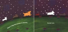 """June 6th: Cynthia Rylant was born on this day in 1954. Among her many picture books, the sweet tearjerker """"Dog Heaven,"""" which will make any child feel better about the death of a pet. At the risk of sounding callous, have it ready BEFORE the dog dies."""