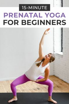 A pregnancy yoga routine safe for all trimesters! Strengthen and prepare for labor with this prenatal yoga routine! This beginner yoga flow designed to open tight hips and shoulders, and reduce lower back pain during pregnancy. Prenatal Yoga Poses, Prenatal Workout, Pregnancy Workout, Pilates Workout, Workout Tips, Yoga During Pregnancy, Pregnancy Pilates, Pregnancy Belly, Pilates Yoga