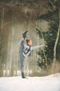 Winter Dancer  http://wish-photo.com/blog  Wish Photography