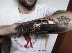Hyperrealistic Tattoos By Italian Artist Paolo Murtas