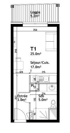 plans pour am nager et d corer un appartement de 30m2 10 1 pinterest studio tiny houses. Black Bedroom Furniture Sets. Home Design Ideas