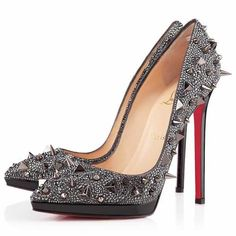 All You Need is Love And Christian Louboutin Pigalili Plato 140mm Pumps Grey DYN!