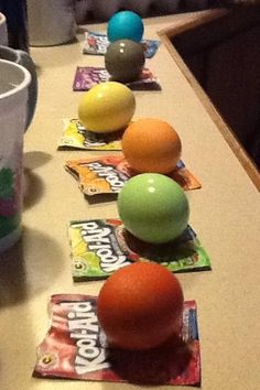 WHSV-TV3 Facebook fan Hunter Huffman is using Kool-Aid to dye eggs this year.