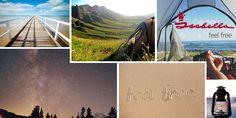 Jouw vakantie dromen zijn geld waard. Maak een moodboard met #isabellafeelfree #kamperen