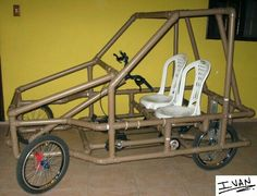 Pvc Pipe Projects, Outdoor Projects, Kids Workbench, Tube Pvc, Materiel Camping, Diy Go Kart, Solar Car, Pedal Cars, Diy Car